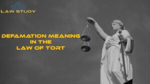 Defamation meaning